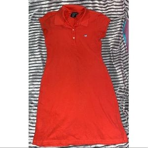 Polo Ralph Lauren Tee shirt dress Red/Orange M